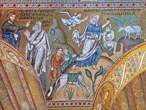 Jesus Abraham Isaac sacrifice