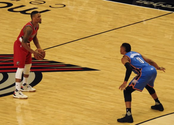 Lillard vs Westbrook