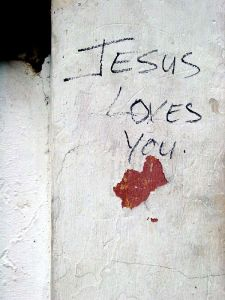 Jesus loves you by Elton Harding-CC
