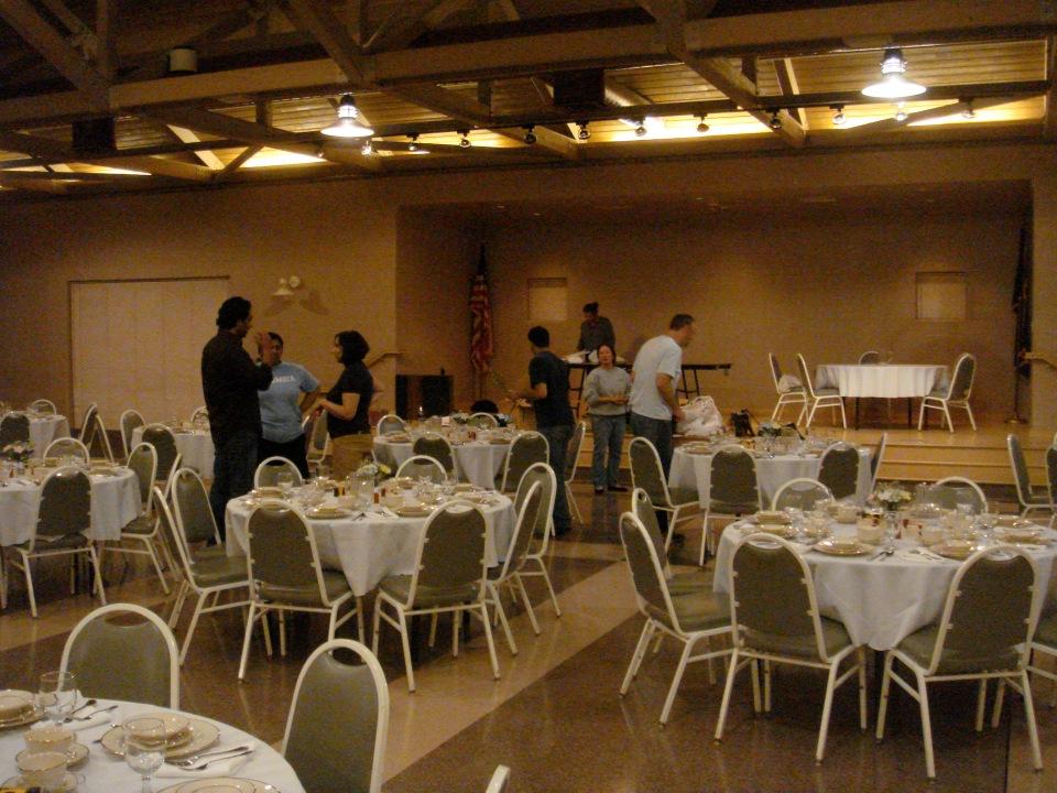 Wedding Setup via DL - CC