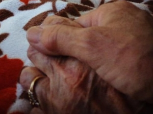 Holding Moms Hand