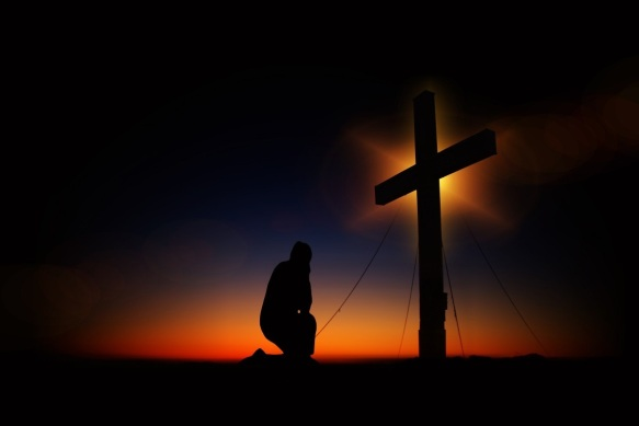PAINT cross_sunset_humility_devotion_silhouette_human_kneeling_knee-607081 via PXHERE - CC Attribution Not Required