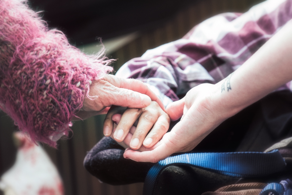Helping Hands by Stewart Black - CC