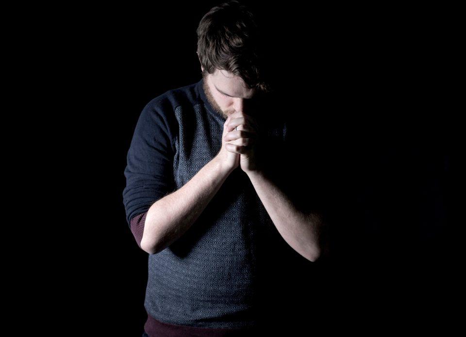 Young Man Praying Pixnio - Public Domain